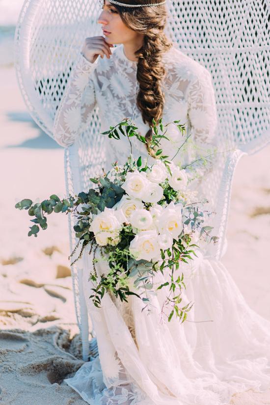 bohemian beach chic � via polka dot bride